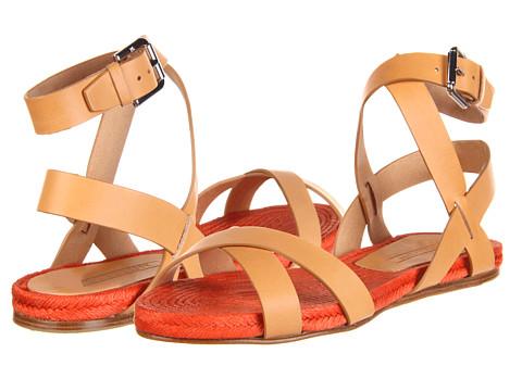Sandale Ralph Lauren Collection - Maira - Natural/Orange