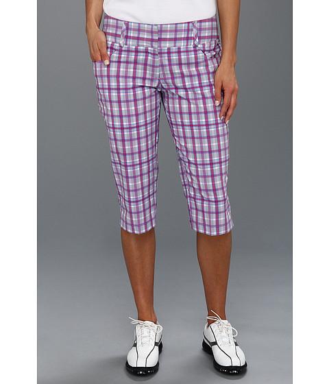 Pantaloni adidas - ClimaLiteî Plaid Pedal Pusher \13 - Chrome/Grape/Passionfruit/Oasis