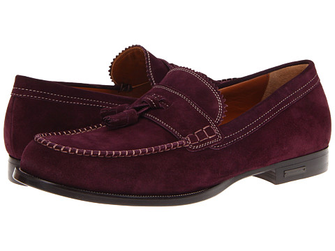 Pantofi DSQUARED2 - Classic College Suede Loafer - Viola