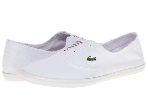 Adidasi Lacoste - Cadneslpsw - White/Light Purple