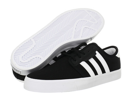 Adidasi adidas - Seeley - Black/Running White/Mid Cinder (Canvas)