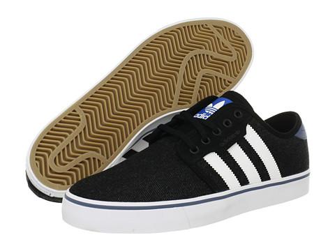 Adidasi adidas - Seeley - Black/Running White/Slate (Denim)