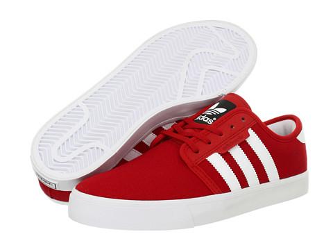 Adidasi adidas - Seeley - Light Scarlet /Running White/Black (Canvas)
