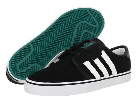 Adidasi adidas - Seeley - Black/Running White/Collegiate Aqua (Suede)