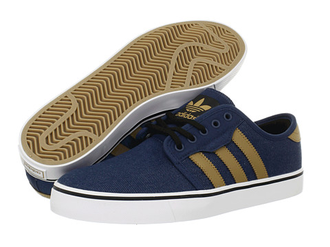 Adidasi adidas - Seeley - Uniform Blue/Craft Canvas/Black (Denim)
