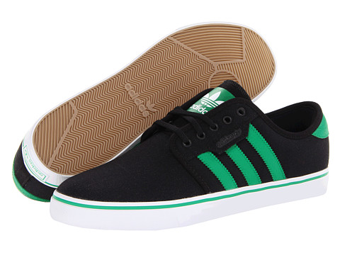 Adidasi adidas - Seeley - Black/Fairway/Running White (Canvas)