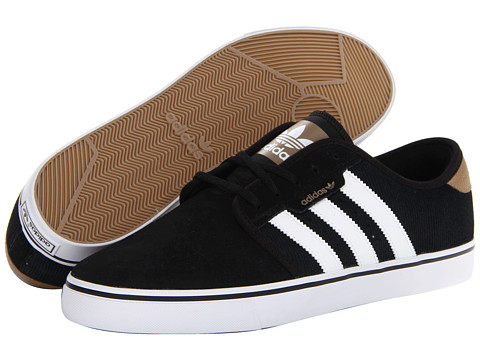 Adidasi adidas - Seeley - Black/Running White/ST Tarnish (Suede)