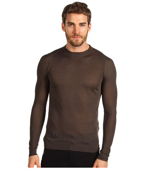 Bluze Costume National - Roundneck Knit Sweater - Mud