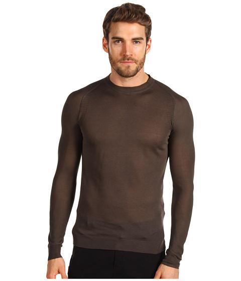 Bluze Costume National - Roundneck Knit Sweater - Mud