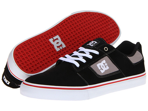 Adidasi DC - Bridge - Black/Athletic Red/White