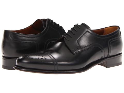Pantofi A. Testoni - Derby - Lux Calf Nero