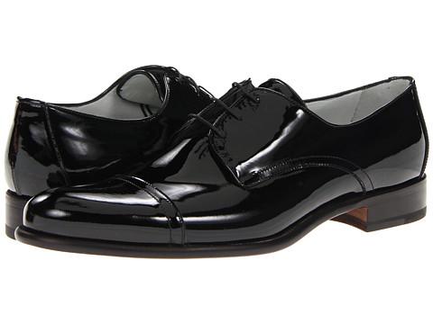 Pantofi A. Testoni - Derby - Patent Nero