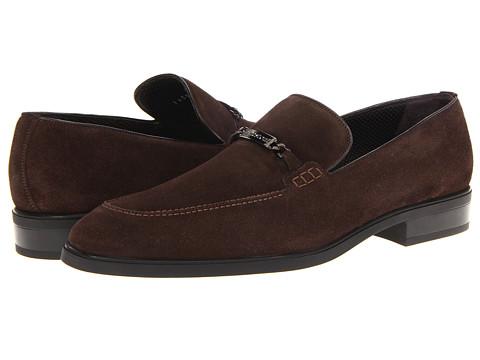 Pantofi A. Testoni - Suede Loafer - Moro