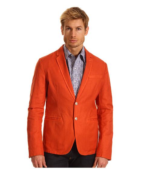 Sacouri Just Cavalli - Cotton Linen Blazer - Papaya