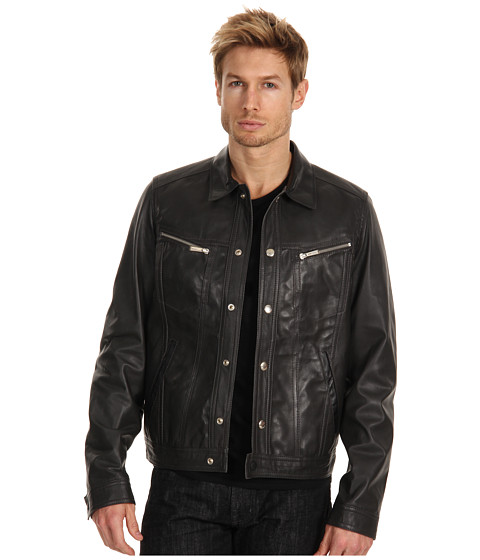 Jachete Just Cavalli - Sheep Leather Jacket - Black