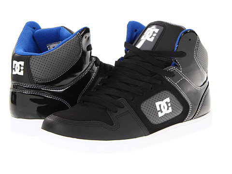 Adidasi DC - Union Hi - Black/White/Royal