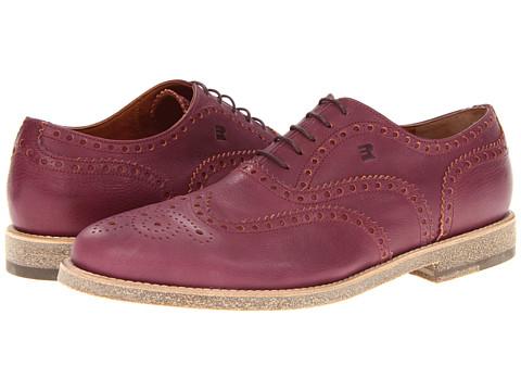 Pantofi Fratelli Rossetti - Quero Leather Wingtip - Granata