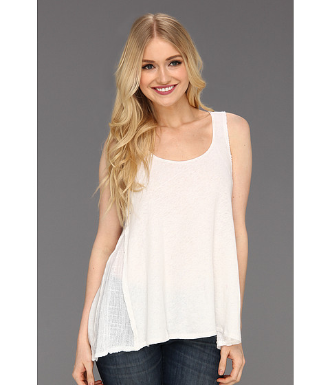 Tricouri Free People - Sweep Me Tank - White