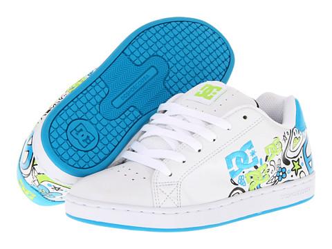 Adidasi DC - Pixie Doodle W - White/Black/Turquoise
