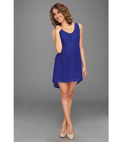 Rochii Gabriella Rocha - Manhattan High-Low Lace Dress - Royal