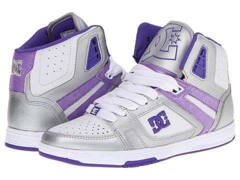 Adidasi DC - Stance HI W - Metallic Silver/Purple