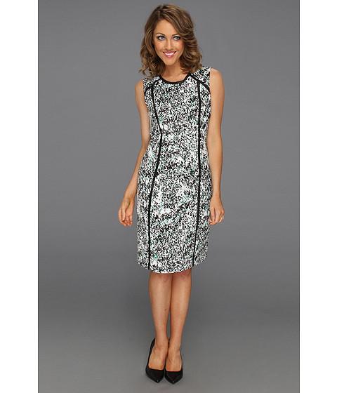 Rochii Calvin Klein - SMD Shift Dress - Emerald Multi