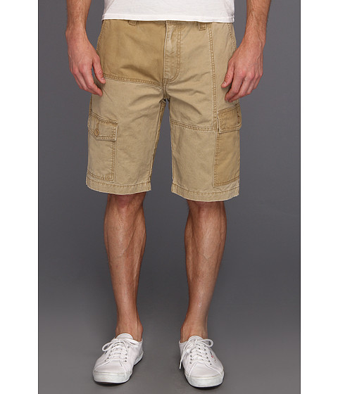 Pantaloni Calvin Klein - Chino Trouser Short w/ Pop Waistband - Khaki