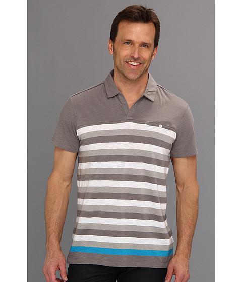Tricouri Calvin Klein - Pop Stripe S/S Polo - Platinum