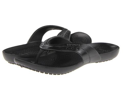 Sandale Crocs - Kadee Patent Flip-Flop - Black