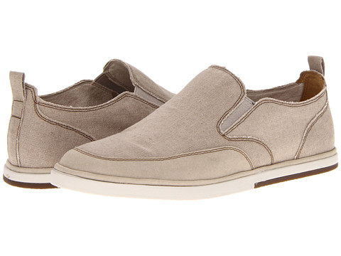 Adidasi Rockport - Weekend Style Slip-On - Taupe Linen/Suede