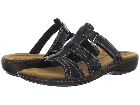 Sandale Clarks - Bevin Anna - Black Leather
