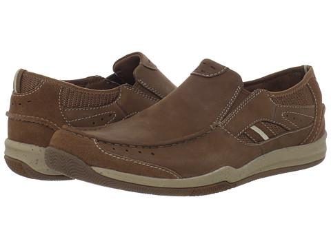 Pantofi Clarks - Watkins Park - Tan Nubuck