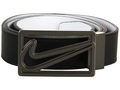 Curele Nike - Signature Swoosh Logo Cutout III - Black/White