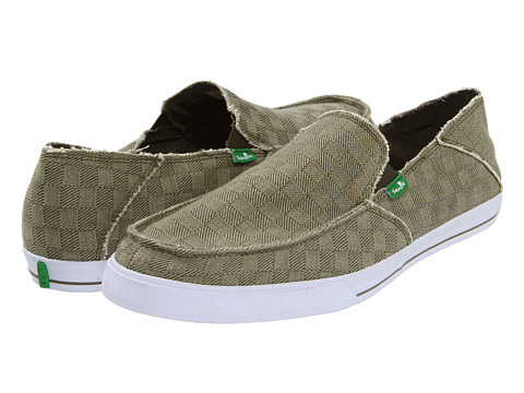 Adidasi Sanuk - Standard Checked Out - Moss