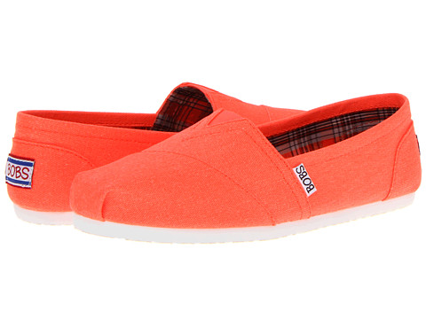 Adidasi SKECHERS - Bobs - Zing - Orange