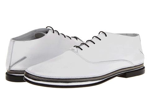 Pantofi Costume National - Cherubini Lace Up Oxford - White