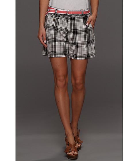 Pantaloni Dockers - Soft Belted Short - Griffin Plaid - Black