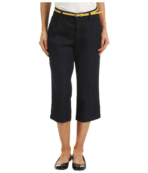 Pantaloni Dockers - Petite Belted Capri with Hello Smooth - Midnight Wash