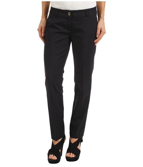 Pantaloni Michael Kors - Petite Stretch Cotton Sexy Skinny Ankle - Navy