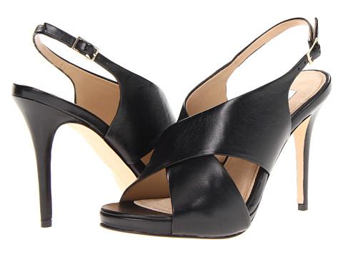 Pantofi Diane Von Furstenberg - Vada - Black Nappa