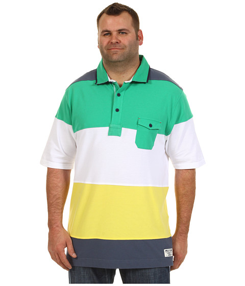 Tricouri Nautica - Big & Tall NJC Pieced Polo - Bright White
