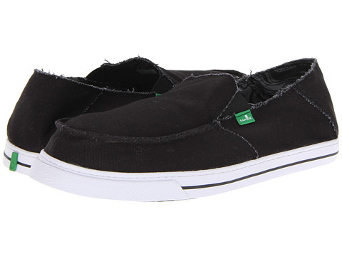 Pantofi Sanuk - Baseline - Black