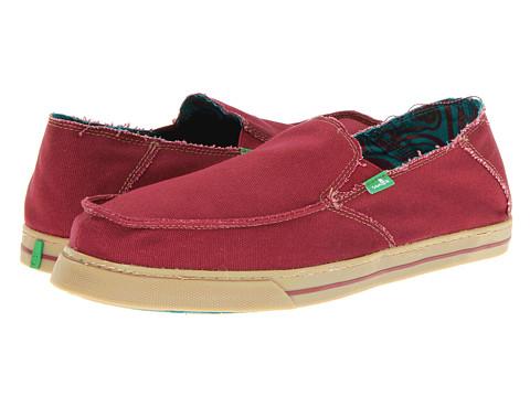 Pantofi Sanuk - Baseline - Maroon
