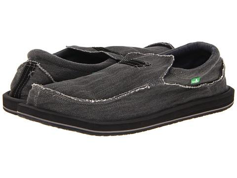 Pantofi Sanuk - Kyoto Big & Tall - Black