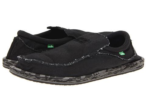 Pantofi Sanuk - Kyoto Big & Tall - Black Camo