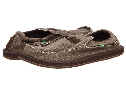 Pantofi Sanuk - Kyoto Big & Tall - Brown