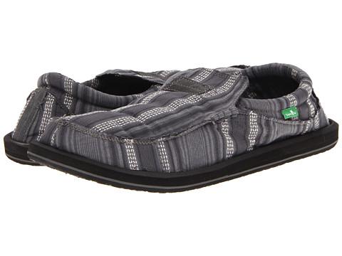 Pantofi Sanuk - Kyoto Big & Tall - Slate Stripe
