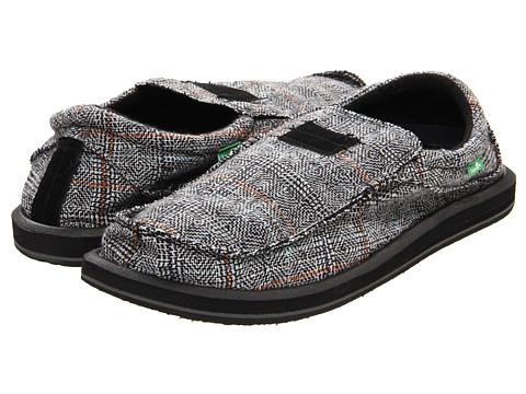 Pantofi Sanuk - Kyoto Dean - Black
