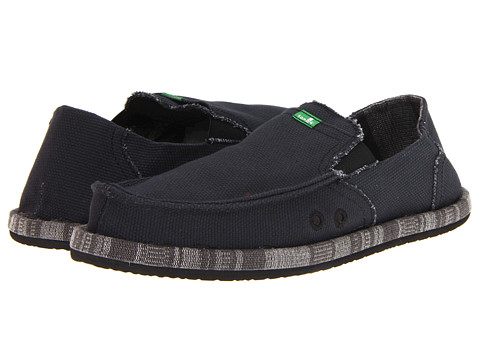 Pantofi Sanuk - Pick Pocket Wrapped - Black