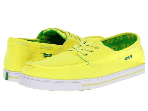 Adidasi Sanuk - Beacon - Fluoro Yellow